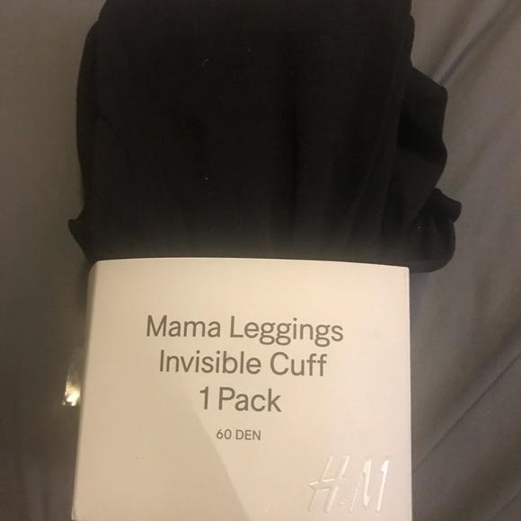 3/$13 H&M Mama Black Leggings